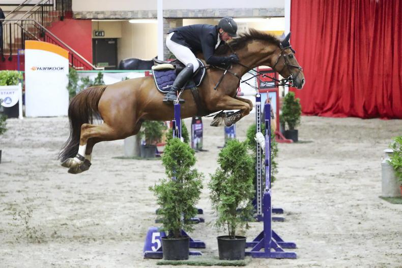 SHOW JUMPING: Carroll pulls out all the stops to win