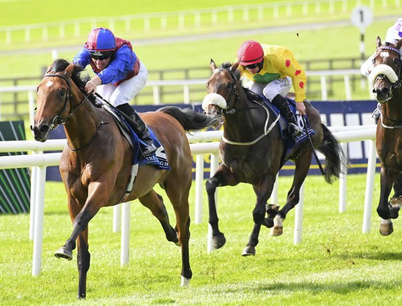 CURRAGH SATURDAY: Luxembourg turns on the speed