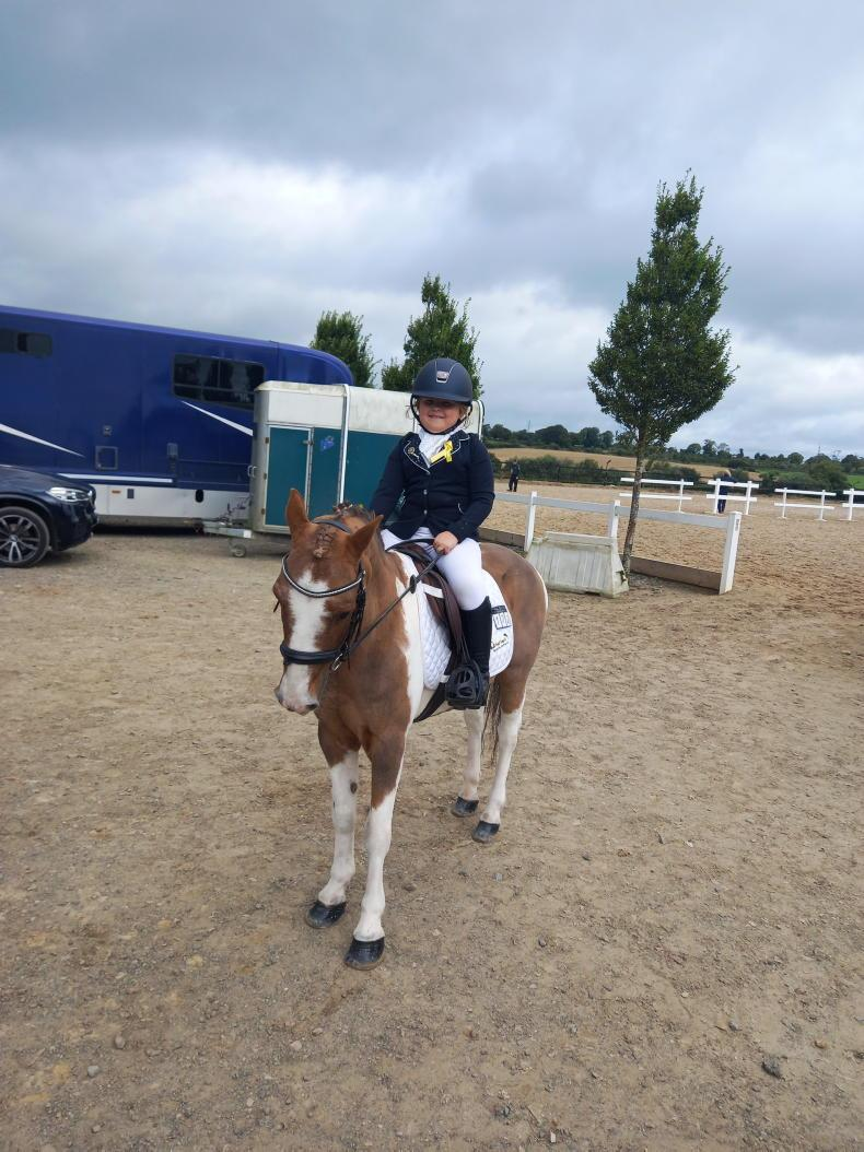 PONY TALES: Well done to Tilly (6)