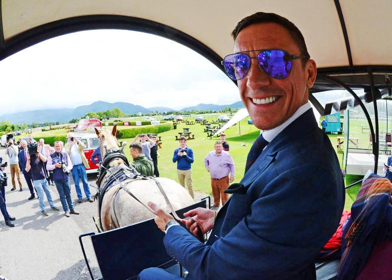 Dettori teams up with Murtagh as Bellewstown remembers Barney Curley