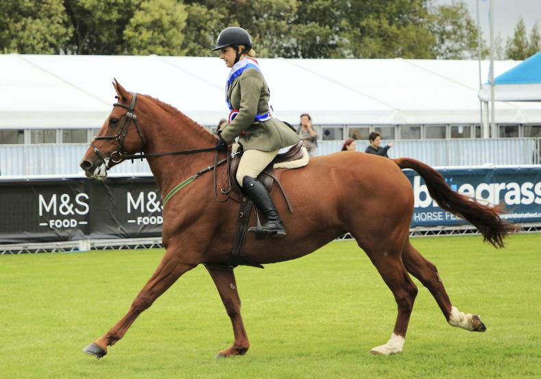 BALMORAL SHOW: Cherry on top for Weston and Moore