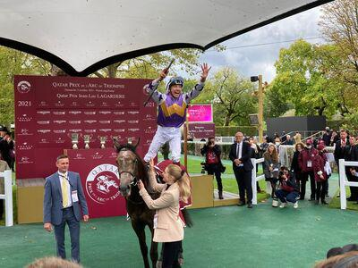 Angel delight in Lagardere for Beckett and Dettori