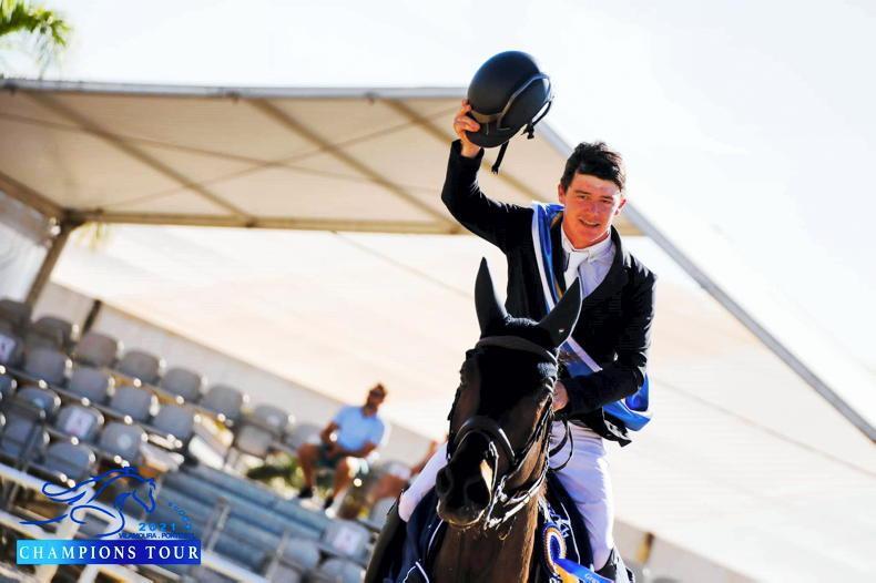 SHOW JUMPING: Portuguese Grand Prix win for Pender