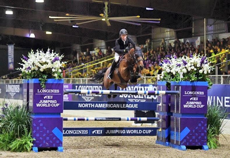 SHOW JUMPING: Swail claims second straight World Cup league win