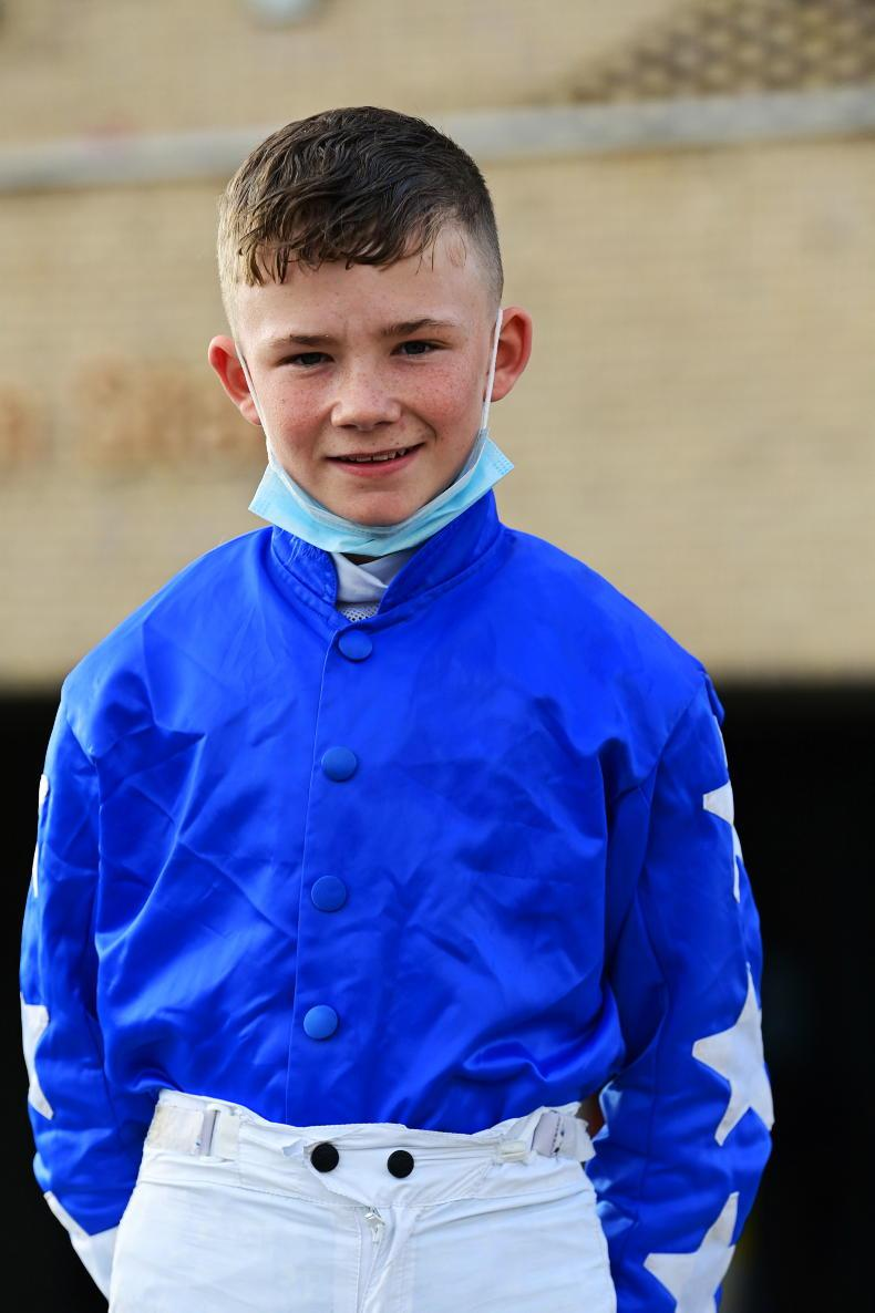 HORSE AND PONY RACING: Double up for new champ O'Connor