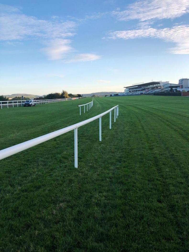 NEWS: Jockeys going off the rails at Leopardstown today