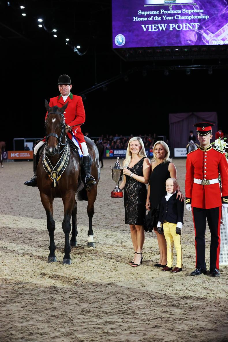 HOYS 2021: Supreme HOYS honour for View Point (ISH)