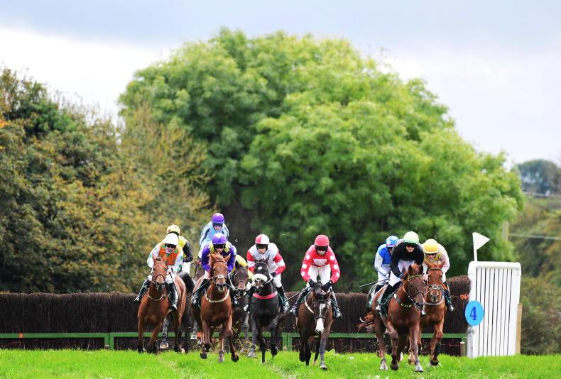 POINT-TO-POINT PHOTOS: Action between the flags in October