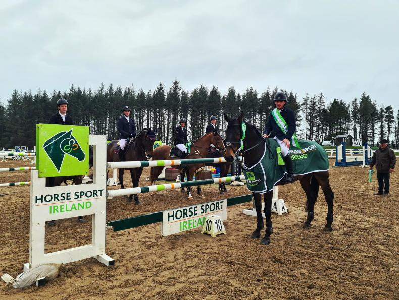 SHOW JUMPING: Harrison lands Grand Prix victory