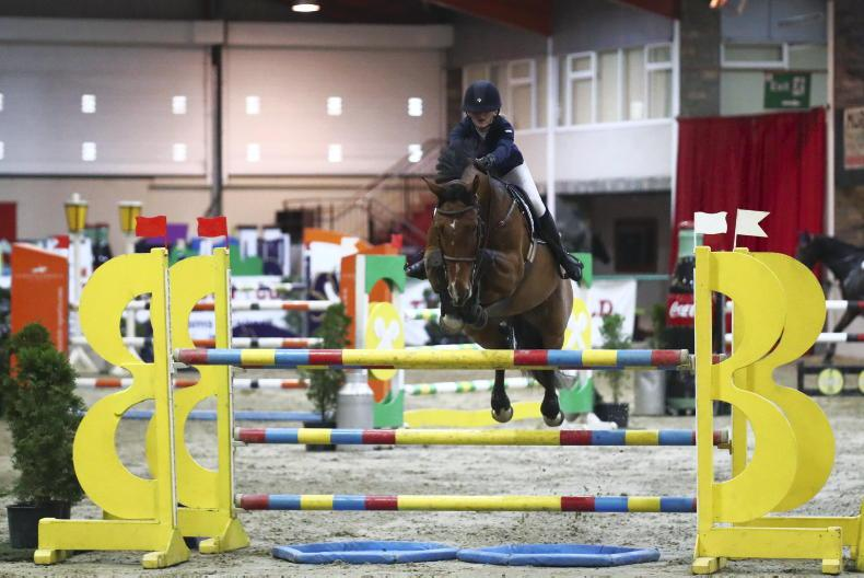 SHOW JUMPING: Peare's star continues to rise