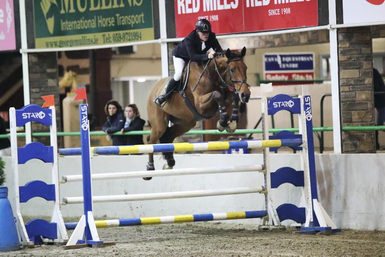 SHOW JUMPING: Floody snatches winning double