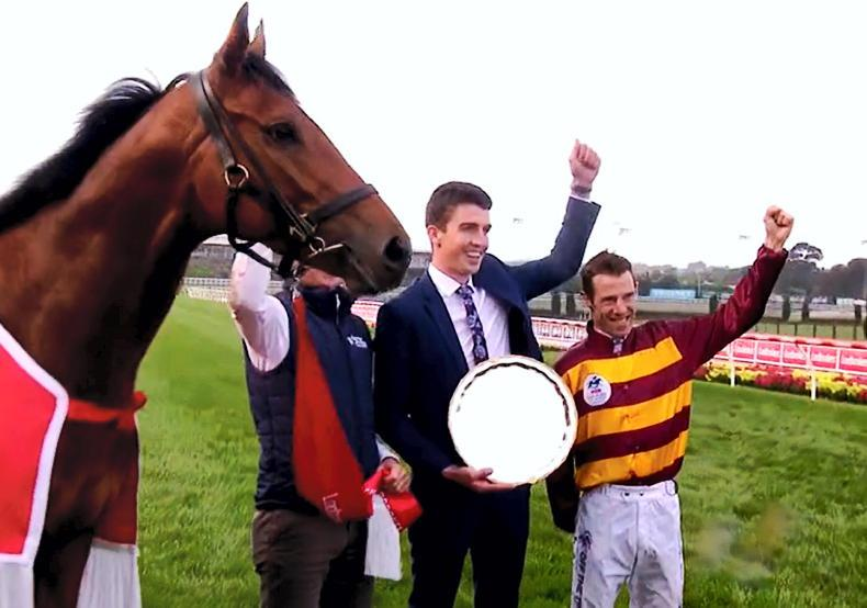 VIDEO: State Of Rest wins Cox Plate for Ireland