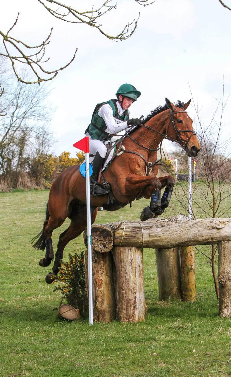 Ever-young Horseware Bushman wins from the front