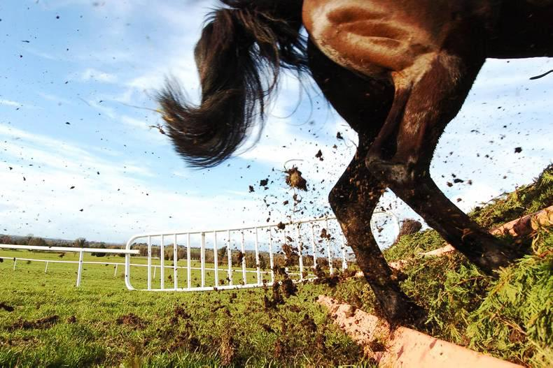 VIEW FROM ABOVE: New point-to-point track in Antrim