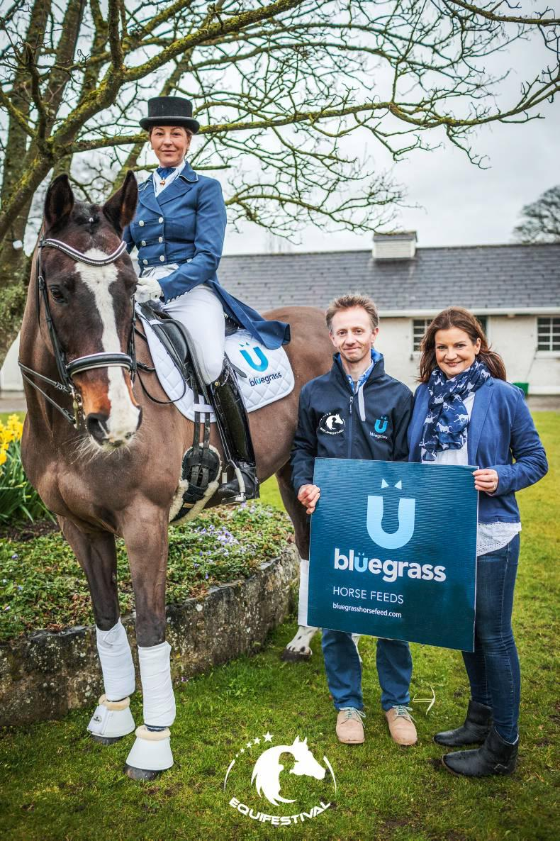 Bluegrass sponsors Equifestival of Ireland