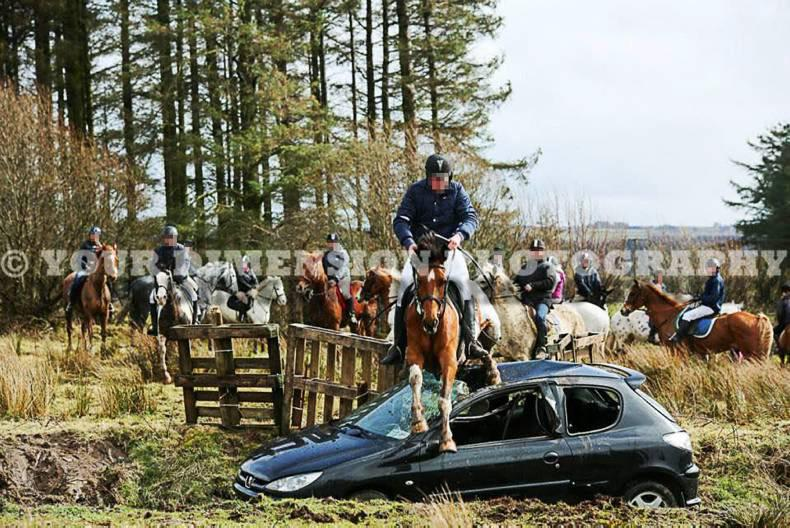 Charity ride images prompt welfare investigation