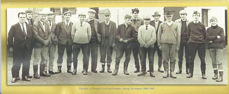 The lads of Dreaper's yard