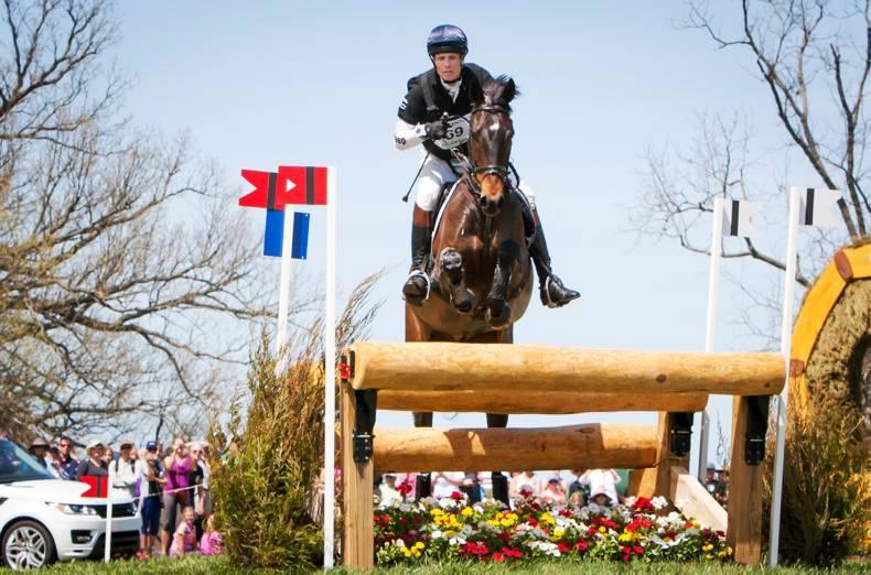 Irish-breds tackle Rolex Kentucky