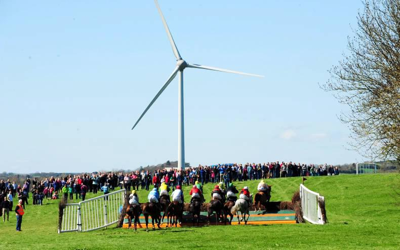 VIEW FROM ABOVE: New Antrim track attracts the crowds
