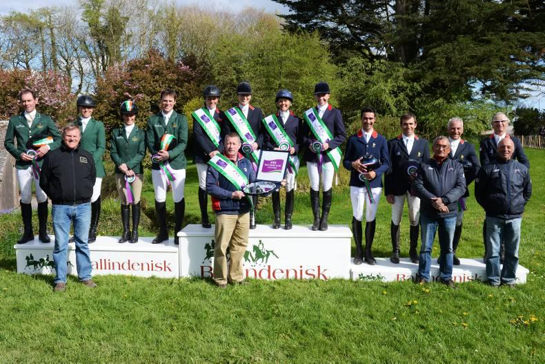 British claim Ballindenisk double