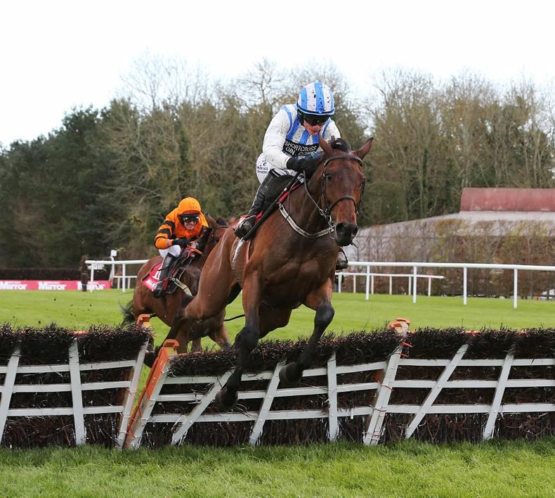 PUNCHESTOWN WEDNESDAY: Killultagh Vic steps up to grab a Grade 1