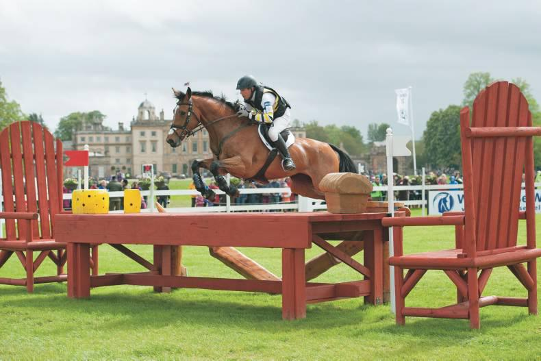 Irish horse defends her Badminton title