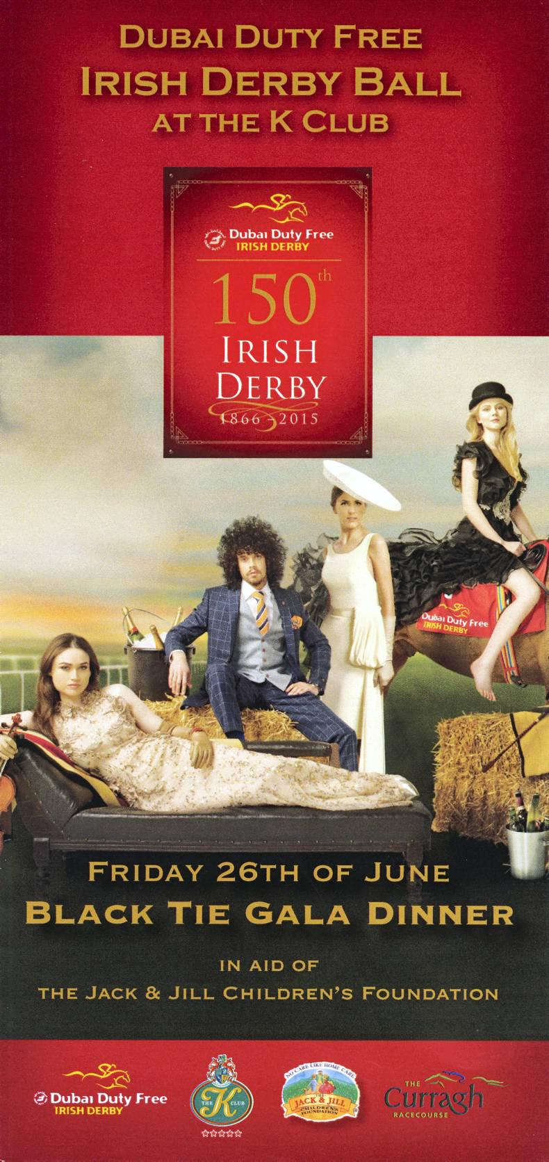 Glamour and fun at Irish Derby ball