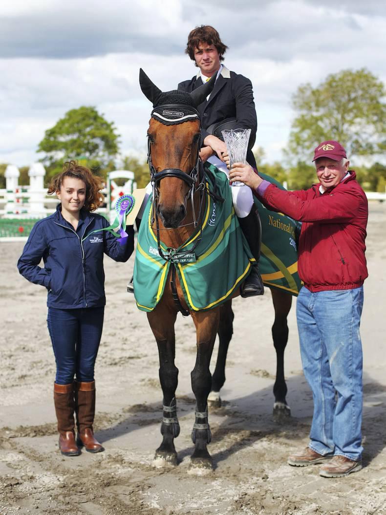 Thomas O'Brien lands a home win in the TRM/Horseware Grand Prix