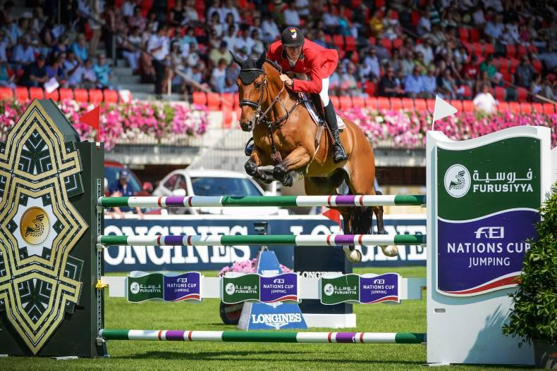 Ireland climbs to third in FEI Nations Cup standings