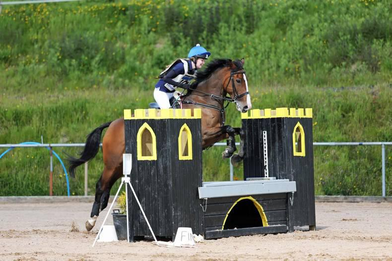 Garden eventing one-two for Savage