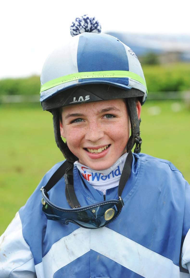 PONY RACING: Ryan rules with four-timer
