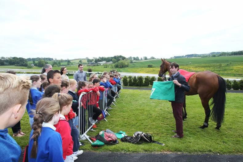 VIEW FROM ABOVE: Behind the scenes at Downpatrick