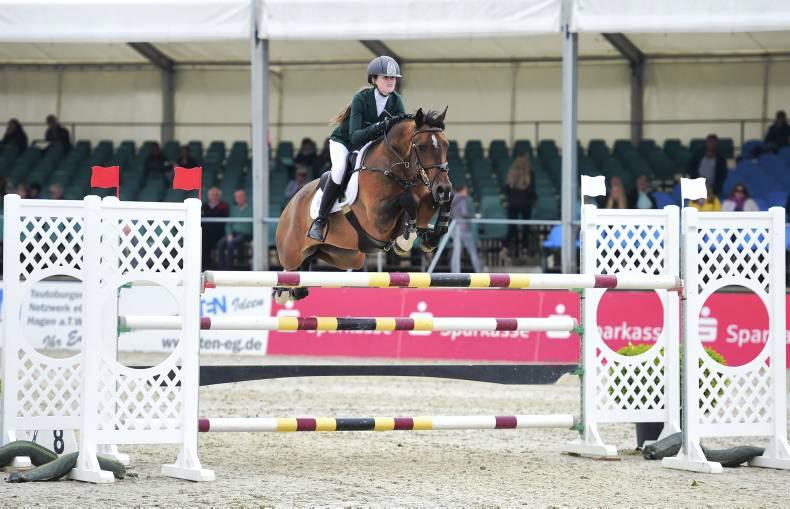 Breen second in British Grand Prix, Sweetnam wins German Pony Grand Prix