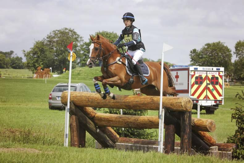 Jumping prowess boost Kiernan to the top