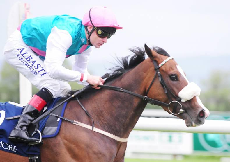 CURRAGH SATURDAY: Log Out can lift the Railway