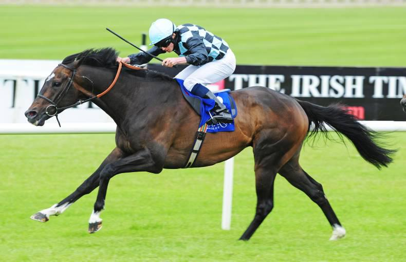 CURRAGH SUNDAY: Pilot powers home for Moore