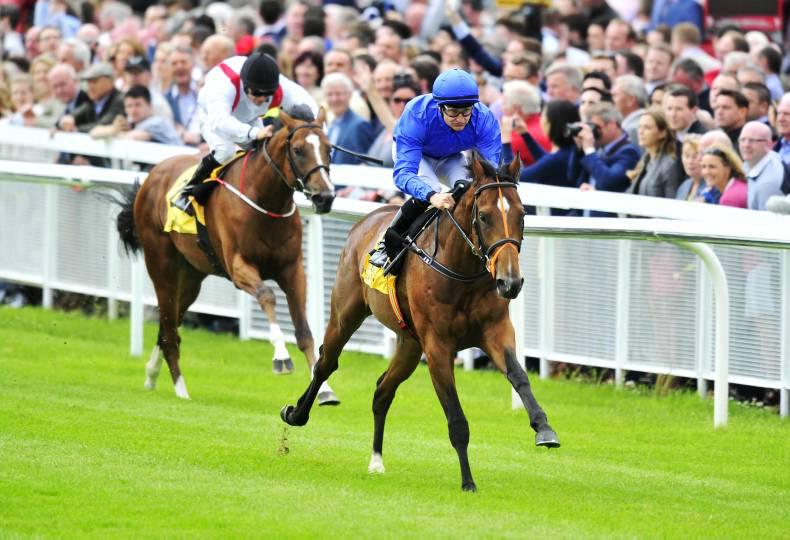 CURRAGH SATURDAY: Final Frontier wins first time out