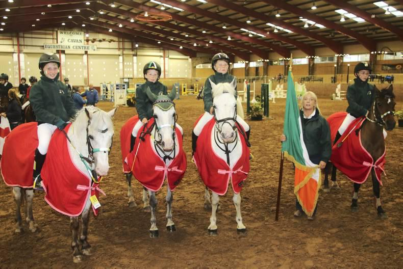 Thrilling pony action at Cavan