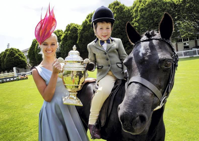 Flag raised for 142nd Dublin Horse Show