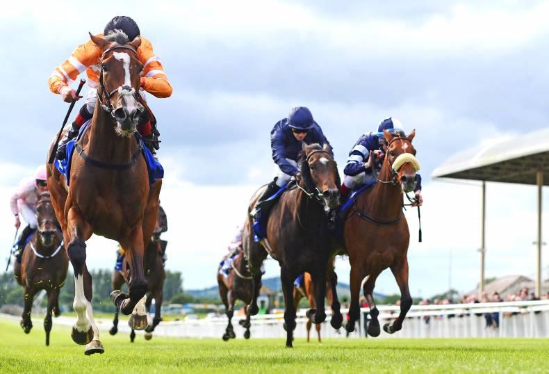 DARLEY IRISH OAKS: Hugo's flying high as Love rules in Oaks