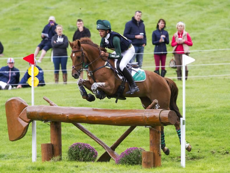 Cathal Daniels takes second in Camphire three-star, O'Connor third