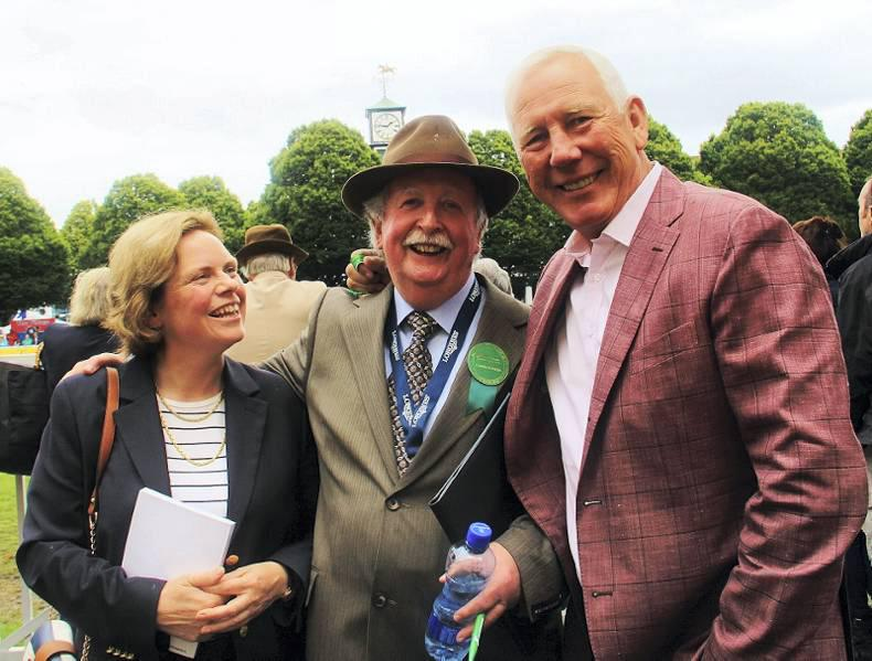 DUBLIN HORSE SHOW 2015: Macken supports Irish Guide Dogs