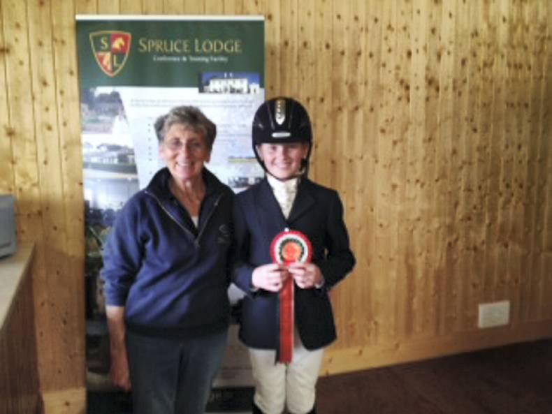 Dressage riders shine at Spruce Lodge