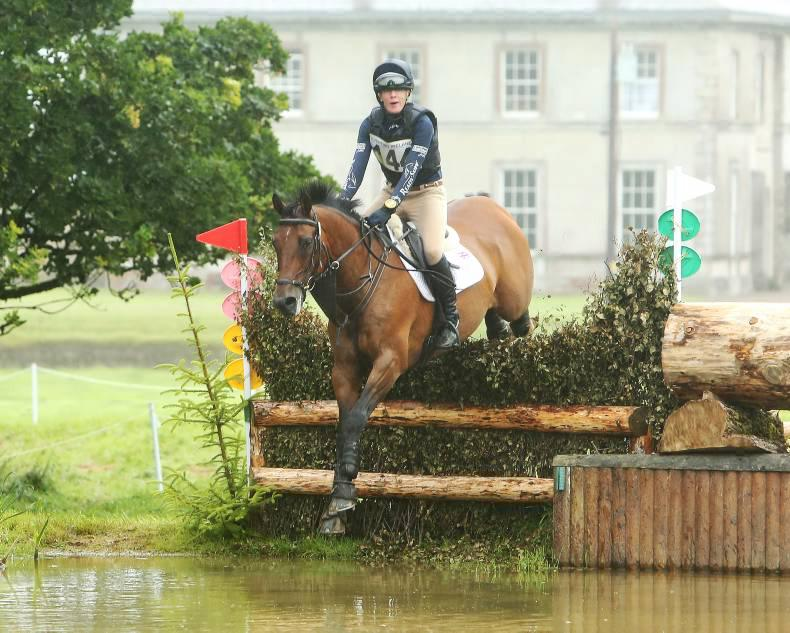 EVENTING: Harris comes out ahead of the pack