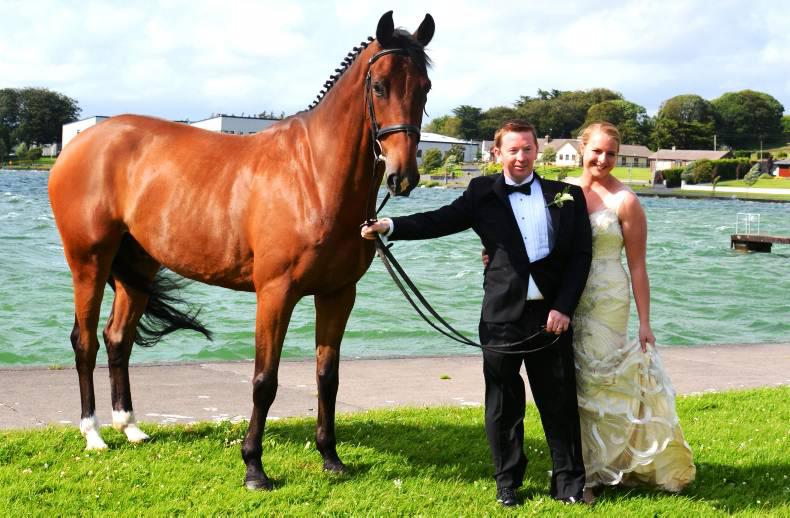 PONY TALES: Wedding bells for Mark and Maria