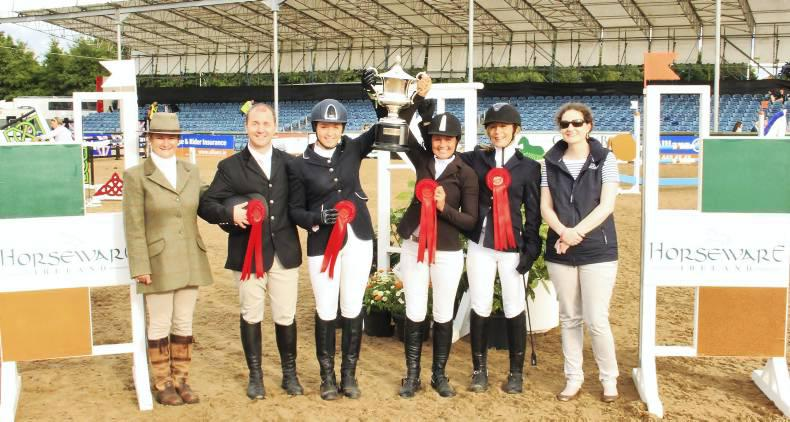 Killossery claim team show jumping title