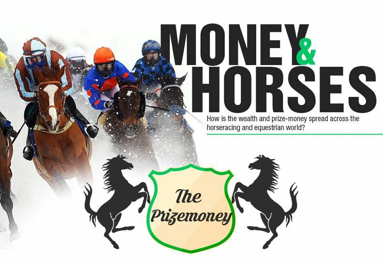 Money and Horses - an infographic
