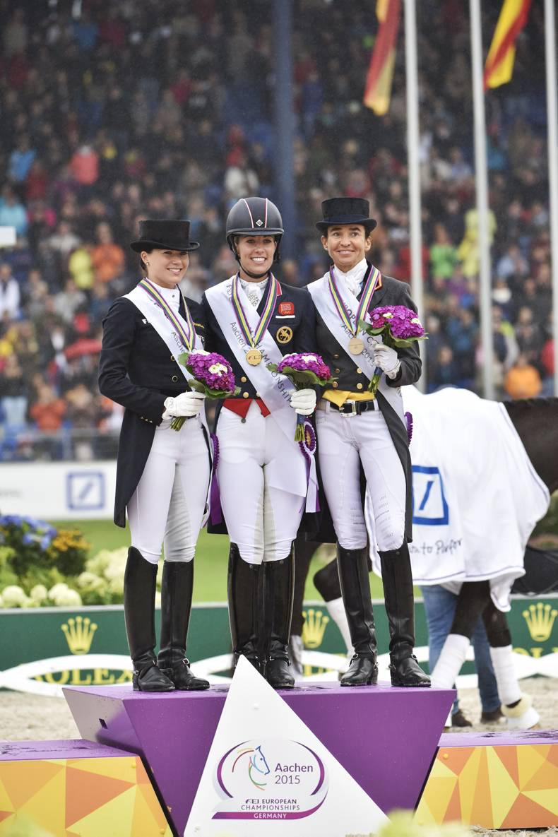 Double gold for Dujardin and Valegro in Aachen
