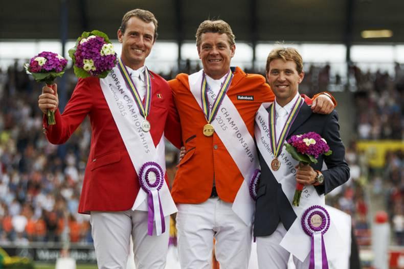 Double gold for Dubbeldam in Aachen
