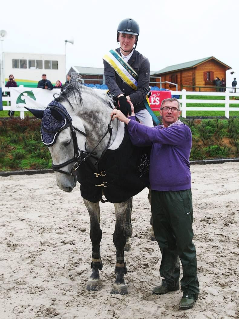 MacDonagh crowned national young rider champion